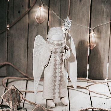 Куклы и игрушки ручной работы. Ярмарка Мастеров - ручная работа «Рождественский ангел». Handmade.