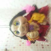 Куклы и игрушки ручной работы. Ярмарка Мастеров - ручная работа кукла-попик  отличный подарок и украшение Вашего дома.. Handmade.