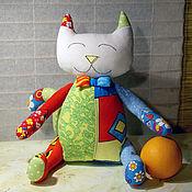 Куклы и игрушки ручной работы. Ярмарка Мастеров - ручная работа Игрушка Кошка в стиле поп-арт. Handmade.