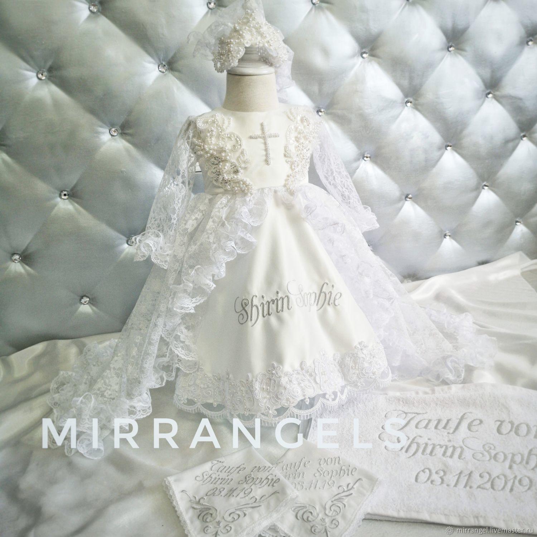 Крестильное платье, Комплект для крещения, Крымск,  Фото №1