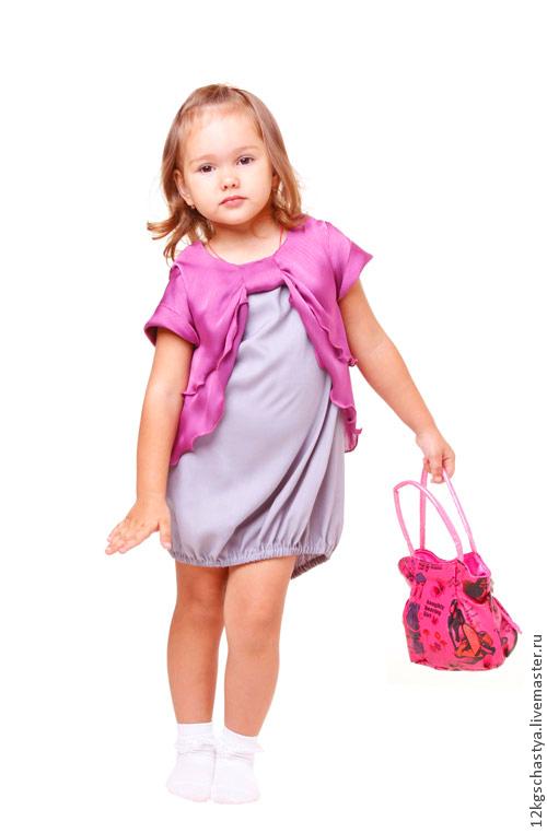 """Одежда для девочек, ручной работы. Ярмарка Мастеров - ручная работа. Купить Платье для девочки """"Сладкий ноябрь"""". Handmade. Серый"""