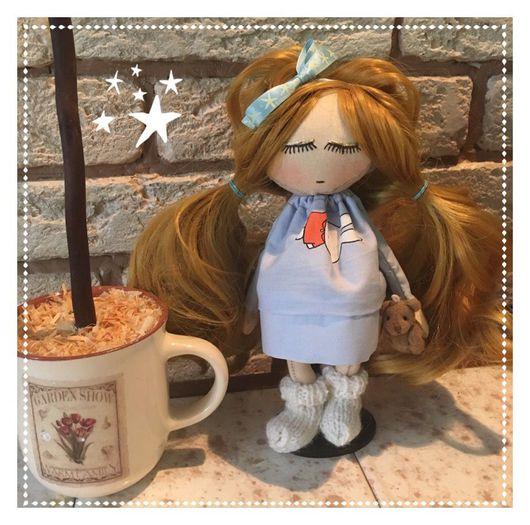 Куклы тыквоголовки ручной работы. Ярмарка Мастеров - ручная работа. Купить Девочка Соня. Handmade. Тильда, тыквоголовка, интерьерная игрушка