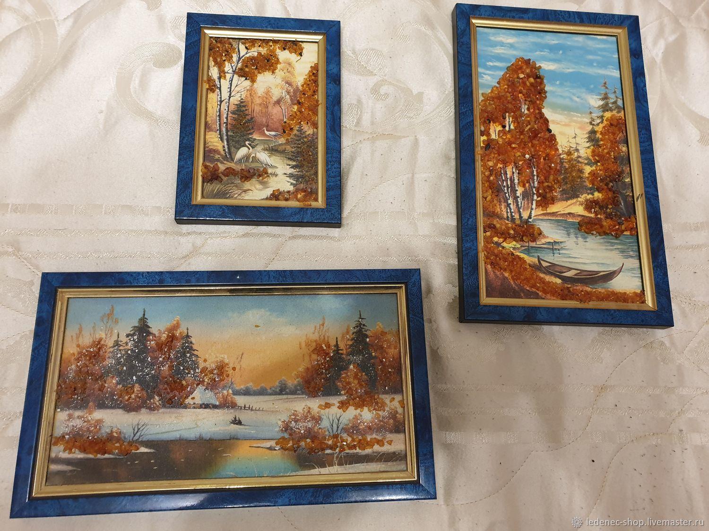 Картины из янтарной крошки, Картины, Одинцово,  Фото №1