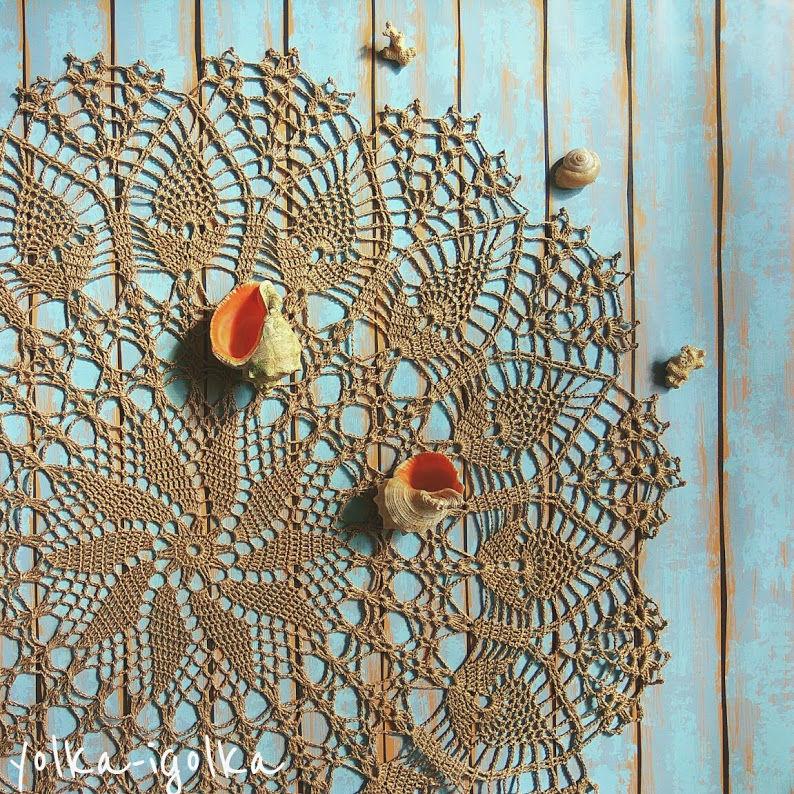 Салфетка натурального льняного цвета, Салфетки, Москва,  Фото №1