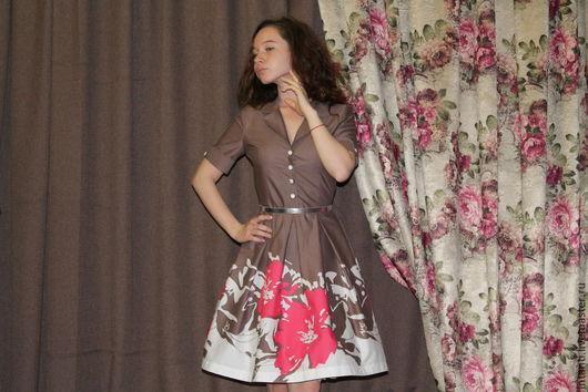 Платья ручной работы. Ярмарка Мастеров - ручная работа. Купить Платье. Handmade. Платье, творческая мастерская, стильная одежда