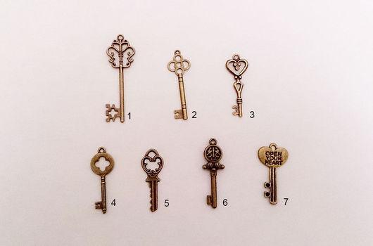 Другие виды рукоделия ручной работы. Ярмарка Мастеров - ручная работа. Купить Ключ-подвеска. Handmade. Ключ, винтажный ключ