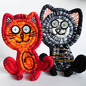 Куклы и игрушки ручной работы. Ярмарка Мастеров - ручная работа Котята. Handmade.