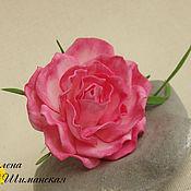 Украшения ручной работы. Ярмарка Мастеров - ручная работа Шпильки для волос с розами из фоамирана. Handmade.