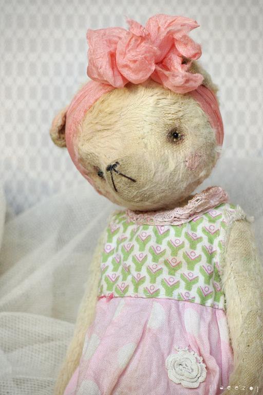 Мишки Тедди ручной работы. Ярмарка Мастеров - ручная работа. Купить Няша. Handmade. Лимонный, подарок, металлический гранулят