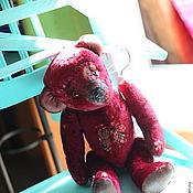"""Куклы и игрушки ручной работы. Ярмарка Мастеров - ручная работа Винтажная мишка """"Розочка""""  в продаже. Handmade."""