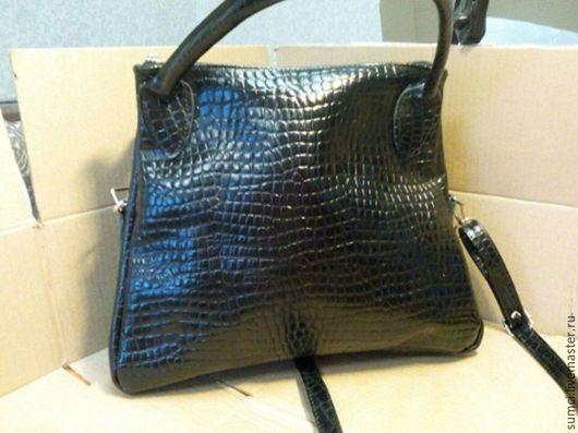 Женские сумки ручной работы. Ярмарка Мастеров - ручная работа. Купить сумка из натуральной кожи в наличии. Handmade. Черный