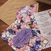 Свадебный салон handmade. Livemaster - original item Wedding invitations. Handmade.