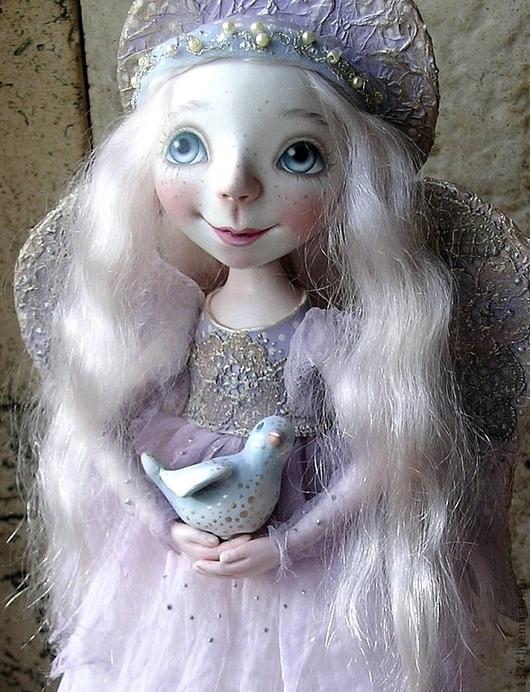 """Коллекционные куклы ручной работы. Ярмарка Мастеров - ручная работа. Купить Кукла """"Ангел"""". Handmade. Ангел, позитивный подарок"""