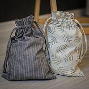 Работы для детей, handmade. Livemaster - original item Bag for the christening kit. Acomadate. Ecomerce. Handmade.