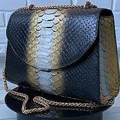 Сумки и аксессуары handmade. Livemaster - original item Exclusive bag made of genuine Python leather premium line. Handmade.