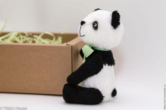 Мишки Тедди ручной работы. Ярмарка Мастеров - ручная работа. Купить Панда По. Handmade. Тедди, teddy bear, лаванда