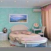 Для дома и интерьера handmade. Livemaster - original item Round bed. Handmade.