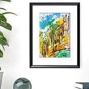 """Картины ручной работы. Ярмарка Мастеров - ручная работа Абстрактная картина """"Летний день"""". Handmade."""