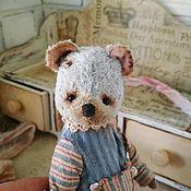 Тедди Зверята ручной работы. Ярмарка Мастеров - ручная работа Мышка очаровашка. Handmade.