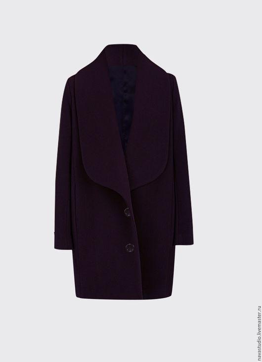 Верхняя одежда ручной работы. Ярмарка Мастеров - ручная работа. Купить Пальто зимнее (арт 377125). Handmade. Тёмно-фиолетовый