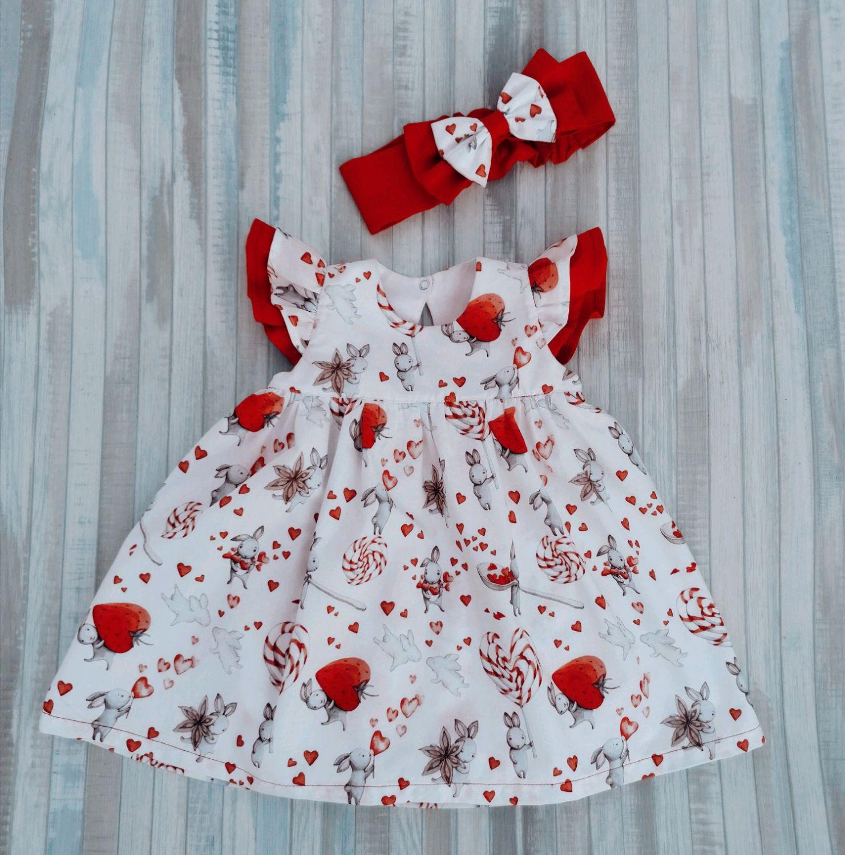 Платье - боди для самых маленьких, Платья, Абакан,  Фото №1