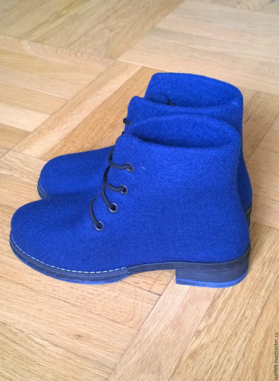 3f8a0222f Обувь ручной работы. Ярмарка Мастеров - ручная работа. Купить Валяные  ботинки