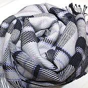 Аксессуары handmade. Livemaster - original item Hand-made woven Merino stole. Handmade.