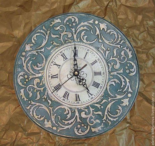 """Часы для дома ручной работы. Ярмарка Мастеров - ручная работа. Купить Часы настенные интерьерные """"Барокко"""" декупаж. Handmade."""