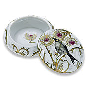 Для дома и интерьера handmade. Livemaster - original item Porcelain jewelry box