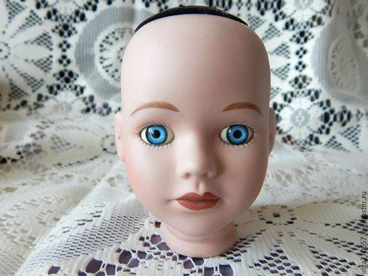 Винтажные куклы и игрушки. Ярмарка Мастеров - ручная работа. Купить Фарфоровая кукольная голова. Handmade. Бежевый, винтаж