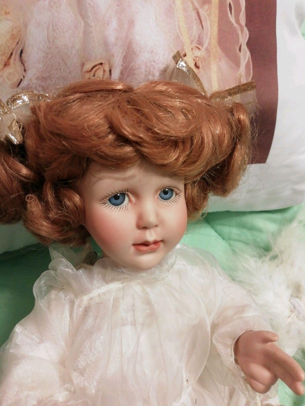 Ангел небесной красоты с крылышками, Коллекционные куклы, Москва, Фото №1