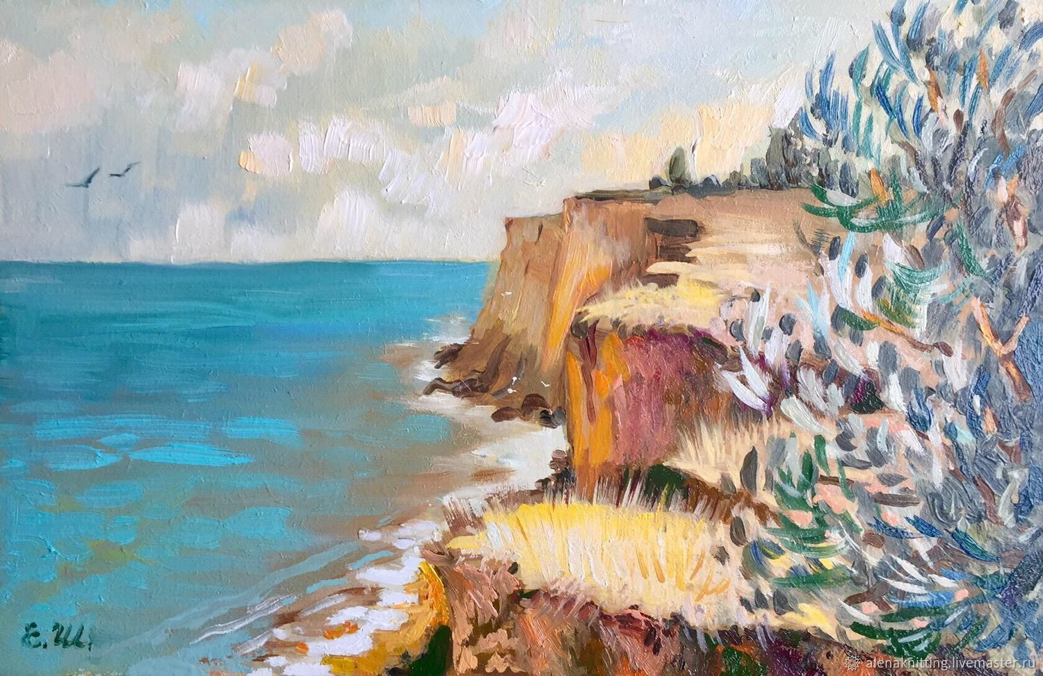 Oil etude ' Western Crimea», Pictures, Moscow,  Фото №1