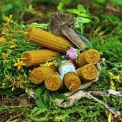 Фен-шуй и эзотерика handmade. Livemaster - original item Candles with herbs. Handmade.
