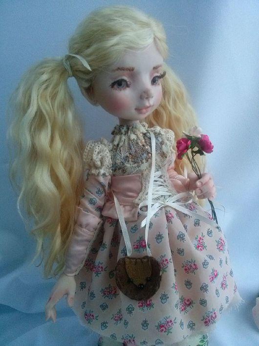 Коллекционные куклы ручной работы. Ярмарка Мастеров - ручная работа. Купить Камилла. Handmade. Кукла ручной работы, радостьдарящая, кружево