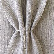 """Аксессуары ручной работы. Ярмарка Мастеров - ручная работа Домотканый шарф палантин """"Шелк бурет и лен"""" тканый шарф Ткачество. Handmade."""