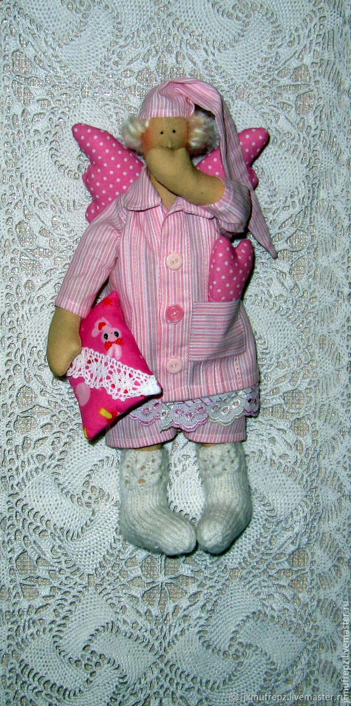 Сплюшкин в розовом, Куклы Тильда, Москва,  Фото №1