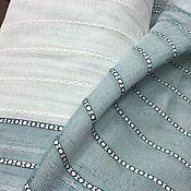 Для дома и интерьера handmade. Livemaster - original item Tulle under linen with stripes at the bottom. Handmade.
