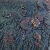 Сумки и аксессуары ручной работы. Ярмарка Мастеров - ручная работа Сумка Орхидеи , изумрудная.. Handmade.