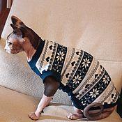 handmade. Livemaster - original item Clothing for cats Mike