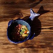 Посуда ручной работы. Ярмарка Мастеров - ручная работа пиала Кит. Handmade.