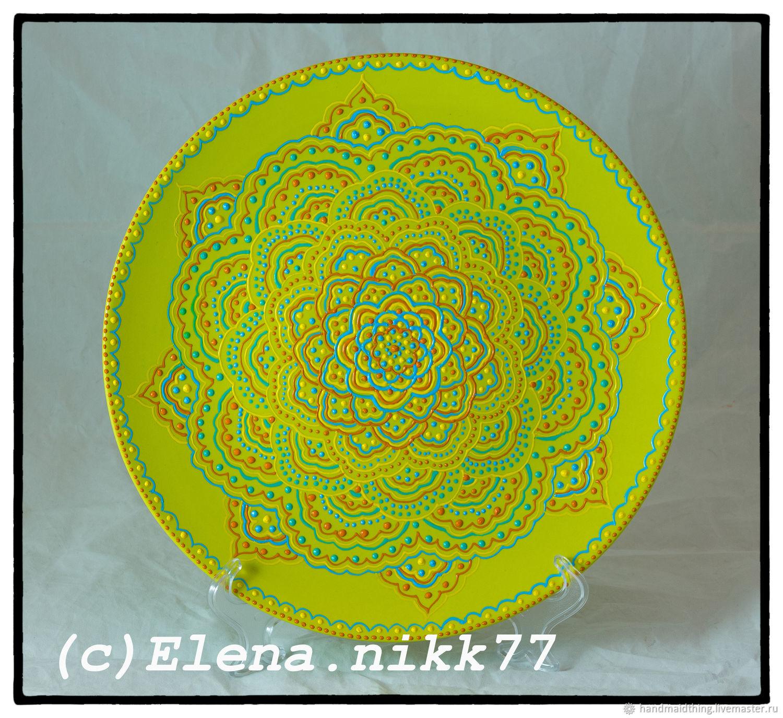 Platter Light Green, Plates, Moscow,  Фото №1