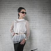 Одежда handmade. Livemaster - original item Ashley silk blouse. Handmade.