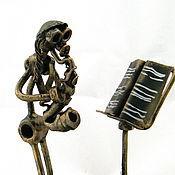 Сувениры и подарки handmade. Livemaster - original item Jewish saxophonist. Handmade.