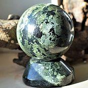 Фен-шуй и эзотерика handmade. Livemaster - original item Ball aegirine with apatite 95 mm. Handmade.
