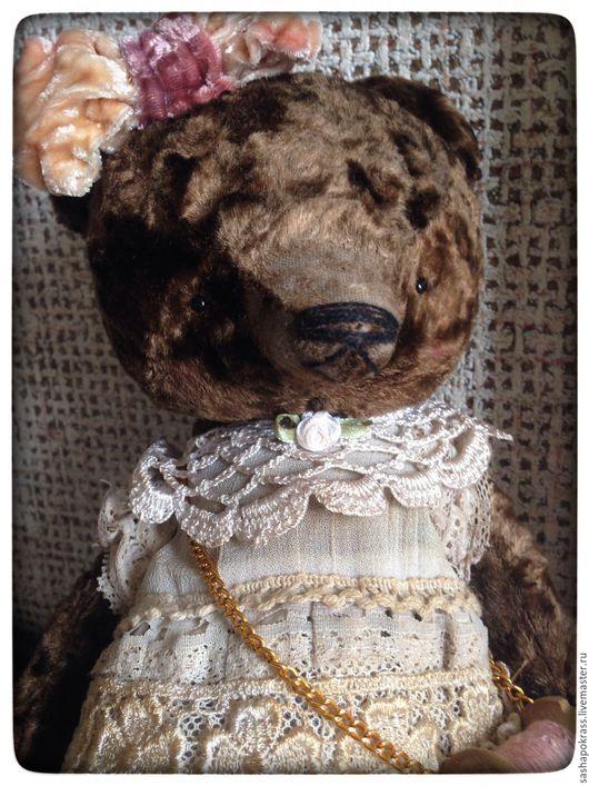 Мишки Тедди ручной работы. Ярмарка Мастеров - ручная работа. Купить Мария. Handmade. Коричневый, трюфель