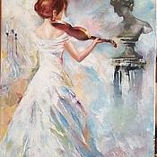 Картины и панно handmade. Livemaster - original item Oil painting ` Vivaldi, Spring...`. Handmade.
