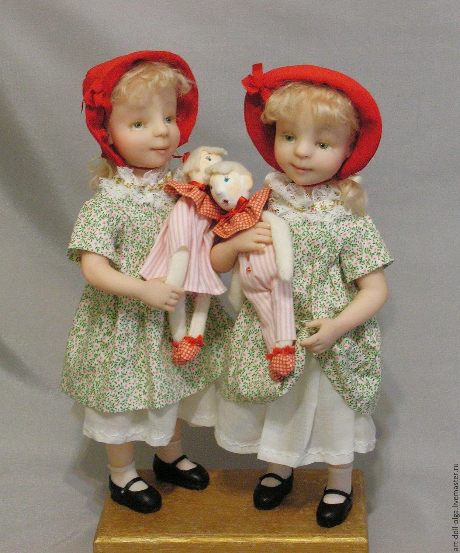 "Коллекционная кукла ""Красная шапочка... Две!!!"", Куклы, Москва, Фото №1"