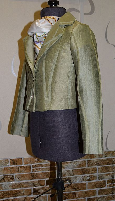 """Одежда для девочек, ручной работы. Ярмарка Мастеров - ручная работа. Купить жакет """"Лесная фея"""". Handmade. Хаки, детское пальто"""