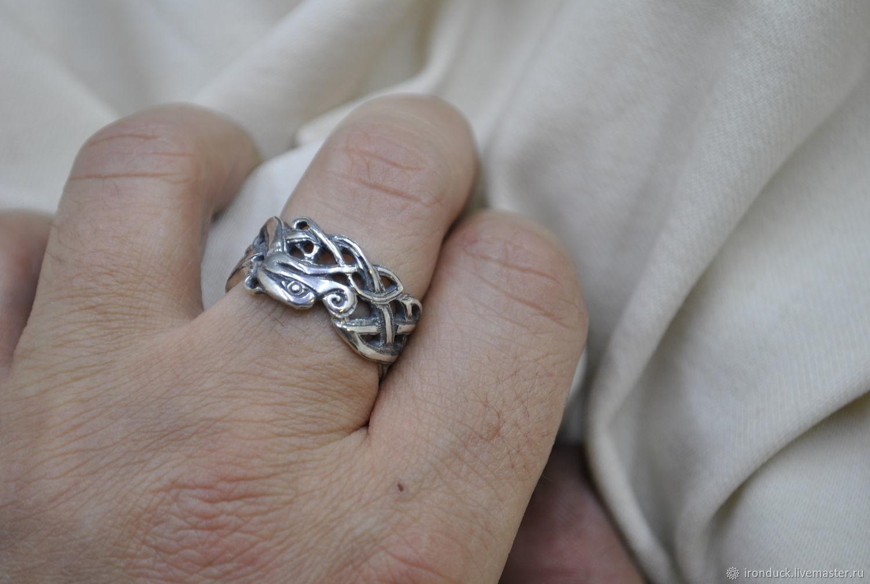 """Кольцо """"Кельтский дракон"""", Кольца, Санкт-Петербург,  Фото №1"""