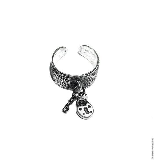 Кольца ручной работы. Ярмарка Мастеров - ручная работа. Купить Кольцо Секрет, серебро. Handmade. Замок, серебро, 925 проба